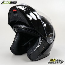 NoEnd District Modular Helmet Gloss Black Size M