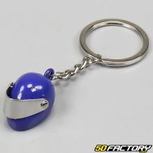 Llavero casco azul