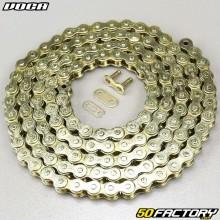 Cadena 420 Voca 136 enlaces de oro reforzado