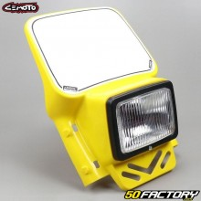 Yellow Cemoto enduro headlamp