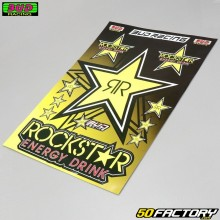Set of stickers  Rockstar Bud Racing