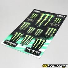 Planche de stickers Full Monster