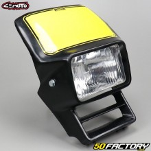 Cemoto headlamp type Honda XL black rectangle