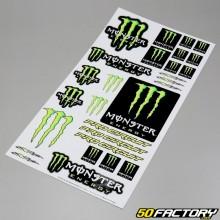Planche de stickers Monster Pro Circuit