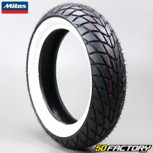 Pneumatico anteriore 110 / 70-11 TL Mitas MC20 Whitewall