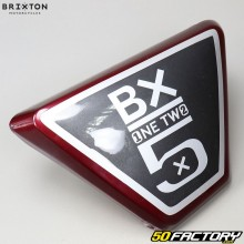 Izquierda debajo del carenado del asiento Brixton BX 125 (2016 a 2019) burdeos