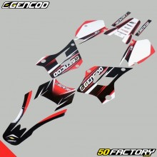 Decoration kit Gencod Sherco SE and SM  (1998 to 2005) red