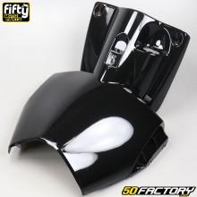 Carenado protección de piernas MBK Stunt,  Yamaha Slider 50 2T FIFTY negro
