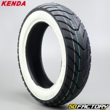 Front tire 100 / 80-10 Kenda K413 with white walls
