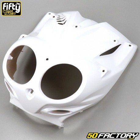 Page Protections TNT pour MBK Stunt//Yamaha Slider Blanc