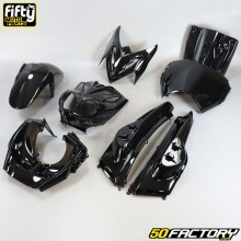 Fairing kit MBK  Stunt,  Yamaha Slider (dual optics) 50 2T FIFTY black