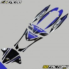 Kit di decorazione Gencod Kymco Agility blu