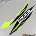 Kit grafiche adesive Gencod Kymco Agility verde neon