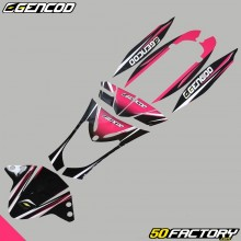 Kit di decorazione Gencod Kymco Agility rosa