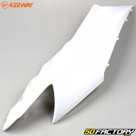 Carénage arrière droit blanc Keeway RY6