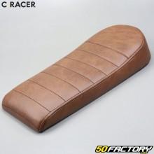 Sella scrambler C-RACER V2 marrone universale