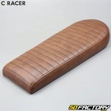 Sella scrambler C-RACER V1 marrone universale