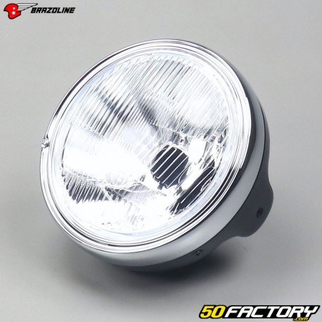Round headlight Brazoline Black LTD