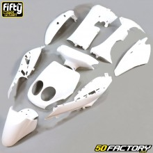 Fairing kit MBK Ovetto,  Yamaha Neo's (from 2008) 50 2T and 4T FIFTY white
