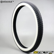 Tire 2x19 (23x2) Continental KKS10 white sides moped