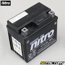YTC5L-BS 12V 5Ah Gel-Batterie Derbi DRD Pro, Malaguti Drakon,  Booster,  Trekker,  Agility... Nitro