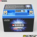 Shido Akku LTX5L-BS 12V 1.6Ah Lithium Ion Derbi DRD Pro, Malaguti Drakon,  Booster,  Trekker,  Agility...