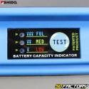 Batterie Shido LTX9-BS 12V 3Ah Lithium Ion Piaggio Zip, Sym Orbit, Xmax, Burgman...
