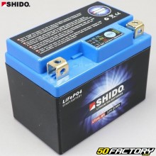 Lithium battery LTX4L-BS 12V 1.6Ah motorcycle, scooter 50cc Derbi Senda,  Gilera Smt, Rieju... Shido