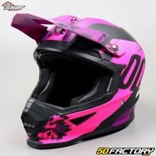 Helm cross Shot Furious Shadow rosa Größe XL