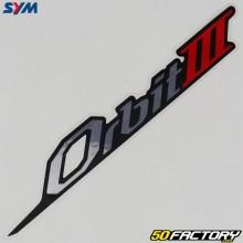 Sticker rear fairings Sym Orbit 3 50 4T