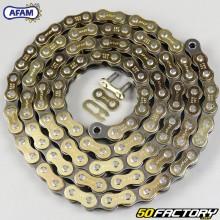 Cadena 520 Afam 110 enlaces de oro reforzados