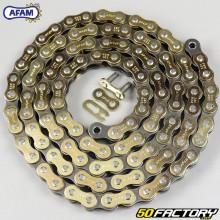 Cadena 520 Afam 112 enlaces de oro reforzados