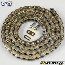 Cadena 428 Afam 116 enlaces de oro reforzados