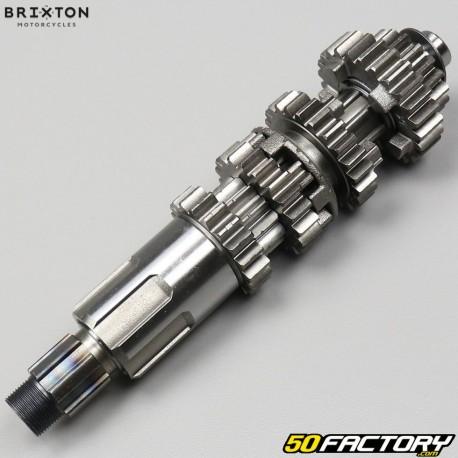 Arbre primaire de boîte de vitesses Brixton 125