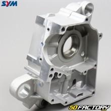Right engine crankcase 1P37QMA Sym Orbit  3,  Peugeot Vivacity 3 ... 50 4T