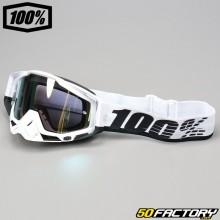Gafas 100% Racecraft Pantalla de espejo de oro Stuu