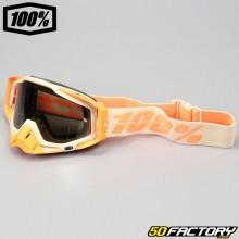 Gafas 100% Racecraft Sahara plata espejo pantalla