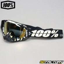 Gafas 100% Racecraft Pantalla de espejo de bronce Ergoflash