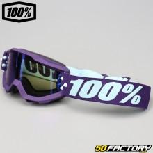 100 mask% Accuri Maneuver pantalla de espejo plateada