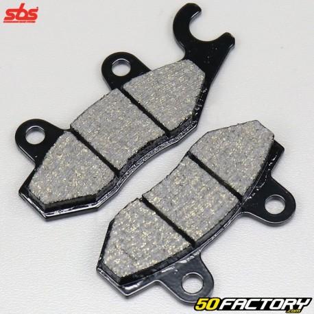 Pastillas de freno Honda Shadow,  Varadero,  Kymco Zing 125 ... SBS Cerámica