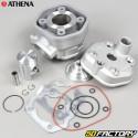 Cylindre piston Derbi Euro 2 avec culasse Athena