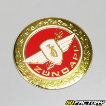 Emblème rond rouge Zündapp GTS50 et KS50