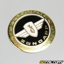 Emblème rond noir V1 Zündapp GTS50 et KS50