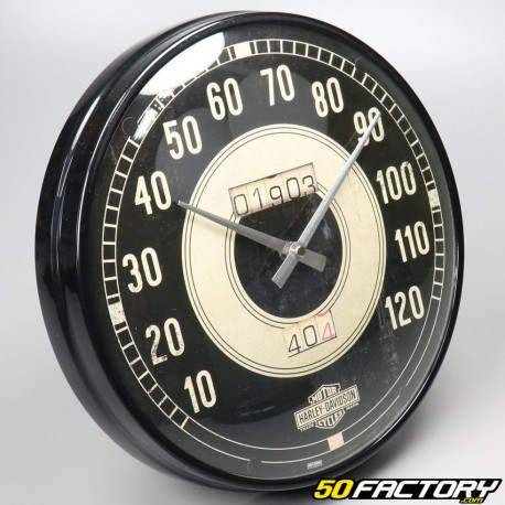 Pendule Harley Davidson (type compteur de vitesse)