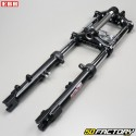 Hydraulic aluminum fork (disc brake mount) Peugeot 103, MBK 51 EBR black