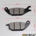 Pastiglie dei freni posteriori ACCESS Honda CBR,  Varadero 125 ...
