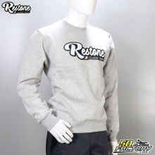 Sweat Restone gris taille M