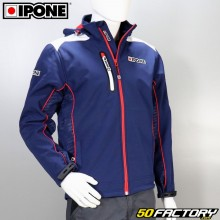 Giacca softshell Ipone 100% Moto taglia blu S