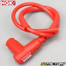 Antiparasites avec fil rouge NGK Racing cable CR2
