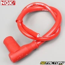 Antiparasitario con cable rojo NGK Racing Cable